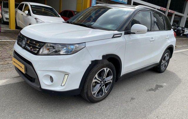 Xe Suzuki Vitara 2016, màu trắng, nhập khẩu2