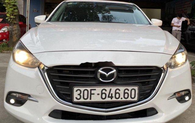 Bán Mazda 3 năm sản xuất 2017, màu trắng0