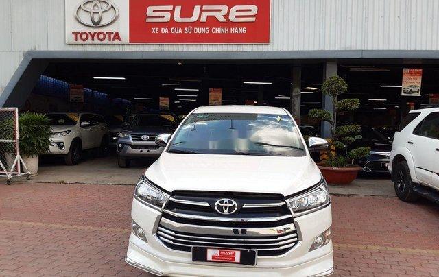 Cần bán lại xe Toyota Innova đời 2019, màu trắng, 790tr3