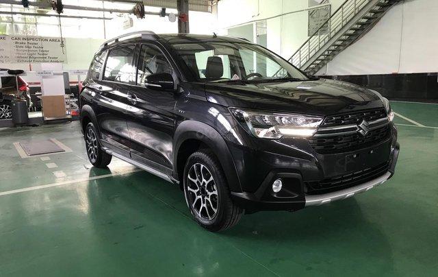 Suzuki XL7 màu đen SUV 7 chỗ nhập khẩu, hỗ trợ trả góp 0% tại Suzuki quận 124