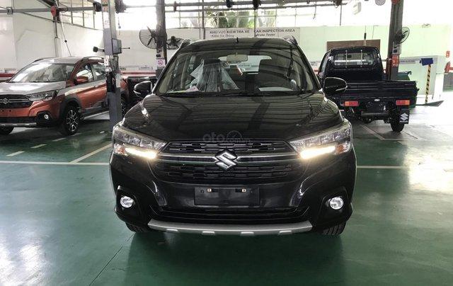 Suzuki XL7 màu đen SUV 7 chỗ nhập khẩu, hỗ trợ trả góp 0% tại Suzuki quận 120