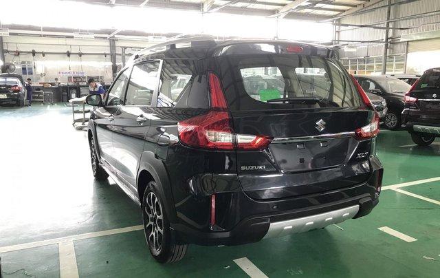 Suzuki XL7 màu đen SUV 7 chỗ nhập khẩu, hỗ trợ trả góp 0% tại Suzuki quận 121