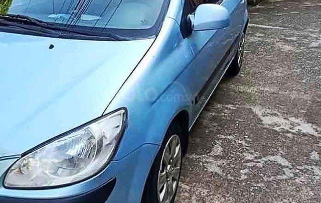 Cần bán Hyundai Getz sản xuất năm 2008, màu xanh lam, xe nhập còn mới0