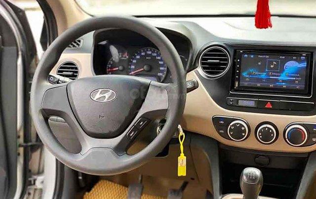 Bán Hyundai Grand i10 năm 2016, màu bạc, nhập khẩu nguyên chiếc còn mới2