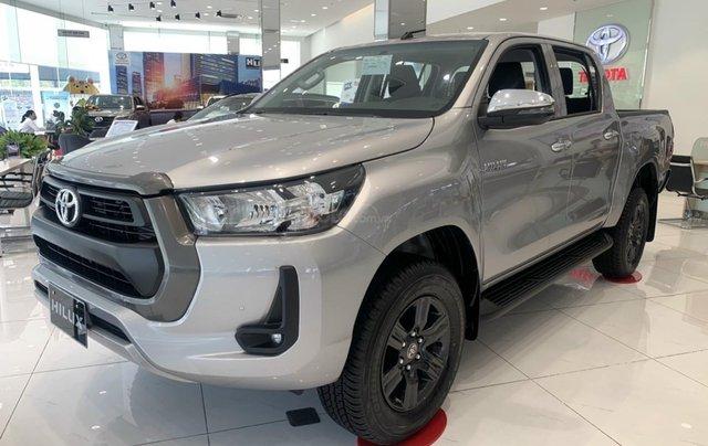 Toyota Tân cảng bán Toyota hilux 2021 máy dầu số tự độn - nhiều ưu đãi lớn tri ân khách hàng cuối năm1