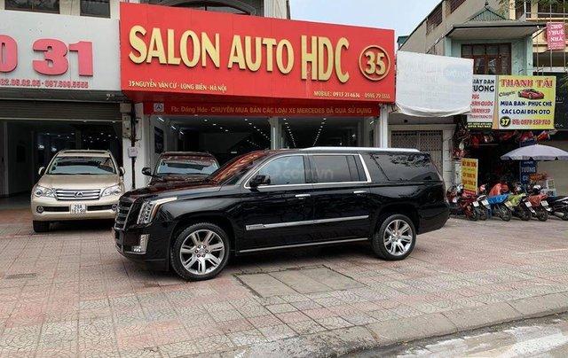 Bán xe Cadillac Escalape Palatinium sản xuất 2014 đăng ký 2015, biển HN cực VIP 30A - 797.791