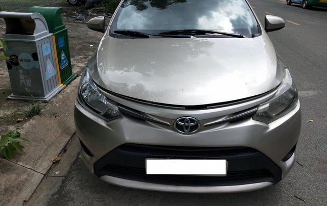Bán gấp xe Toyota Vios 2016, biển số TP. HCM0