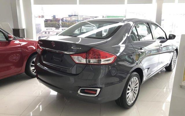 Suzuki Ciaz 1.4L 2020 màu xám ưu đãi 30 triệu, hỗ trợ 80% trả trước 150 triệu nhận xe6