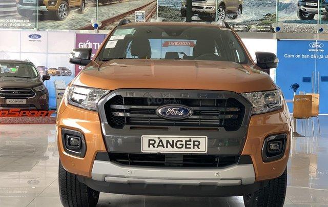 Ford Ranger Wildtrak new giá tốt - giảm tiền mặt - tặng full phụ kiện + bảo hiểm 2 chiều - vay 90%0