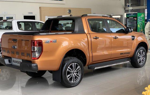 Ford Ranger Wildtrak new giá tốt - giảm tiền mặt - tặng full phụ kiện + bảo hiểm 2 chiều - vay 90%2