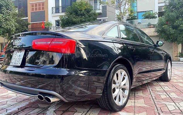 Bán Audi A6 2.0 sản xuất năm 2013, màu đen, nhập khẩu nguyên chiếc, giá tốt2