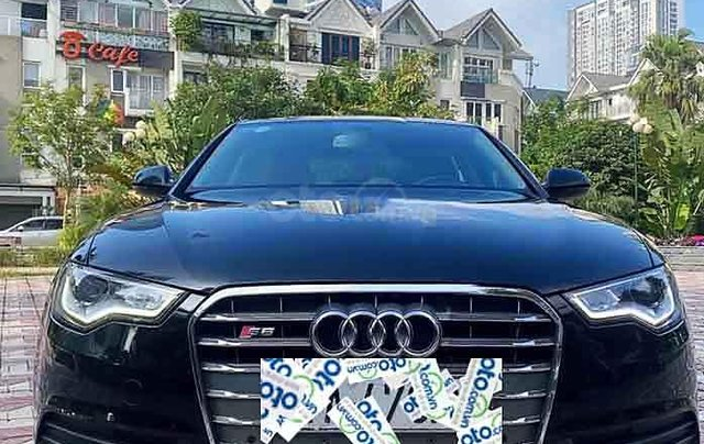 Bán Audi A6 2.0 sản xuất năm 2013, màu đen, nhập khẩu nguyên chiếc, giá tốt4