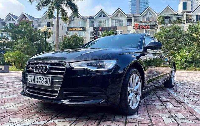 Bán Audi A6 2.0 sản xuất năm 2013, màu đen, nhập khẩu nguyên chiếc, giá tốt0