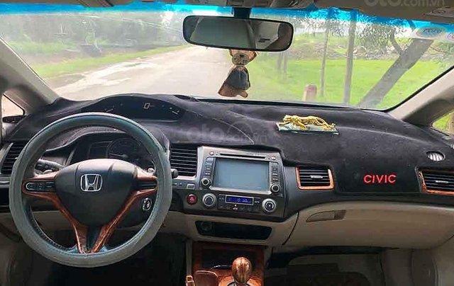 Bán Honda Civic năm sản xuất 2007, màu đen còn mới, 245 triệu4