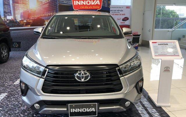 Toyota Tân Cảng bán Toyota Innova 2.0E 2021 - tặng gói bảo dưỡng 3 năm trị giá 19,5 trđ - trả góp chỉ với 200trđ0
