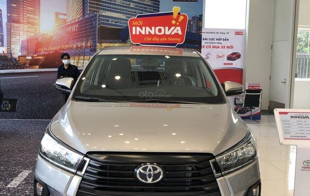 Toyota Tân Cảng bán Toyota Innova 2.0E 2021 - tặng gói bảo dưỡng 3 năm trị giá 19,5 trđ - trả góp chỉ với 200trđ9