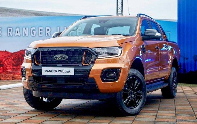[Siêu khuyến mãi] Ford Ranger Wildtrack 2020 mới giảm ngay 45 triệu tiền mặt, giá tốt nhất miền Nam, đủ màu giao ngay0