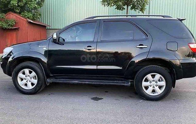 Bán Toyota Fortuner 2.7V 4x4 AT sản xuất năm 2011, màu đen, giá mềm1
