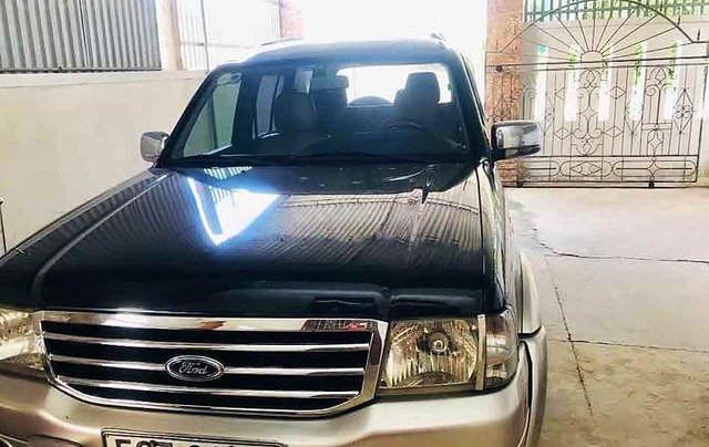 Bán xe Ford Everest sản xuất năm 2006, màu đen, nhập khẩu nguyên chiếc chính chủ0