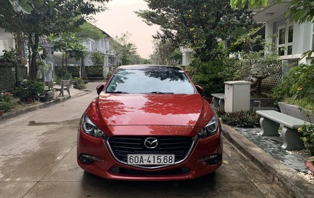 Bán Mazda 3 Hachback 2017 Facelif mẫu mới xe đẹp bao check hãng0