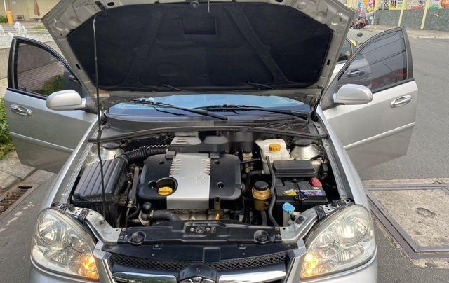 Bán ô tô Daewoo Lacetti đời 2008, màu bạc10