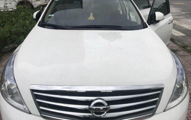 Bán ô tô Nissan Teana năm 2010, màu trắng, nhập khẩu chính chủ, 460tr0