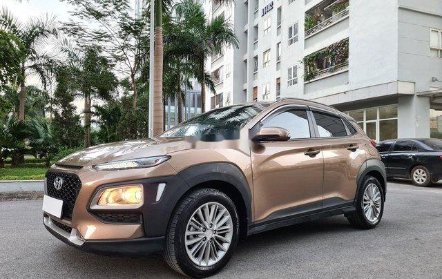 Bán Hyundai Kona năm sản xuất 2019, màu nâu, 605tr1