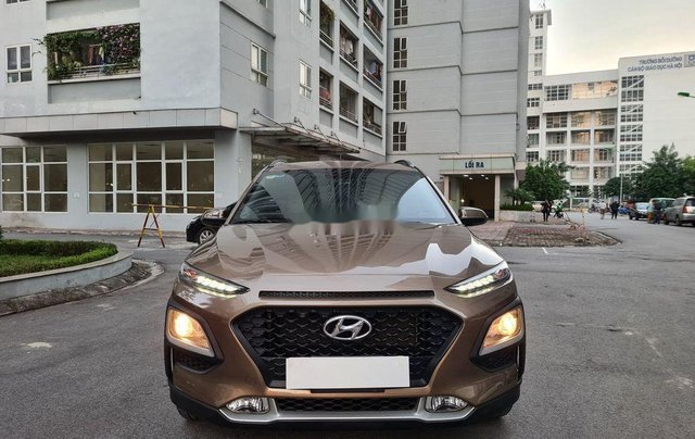 Bán Hyundai Kona năm sản xuất 2019, màu nâu, 605tr0