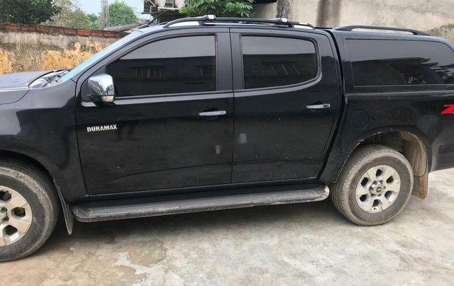 Cần bán lại xe Chevrolet Colorado 2016, màu đen, nhập khẩu0