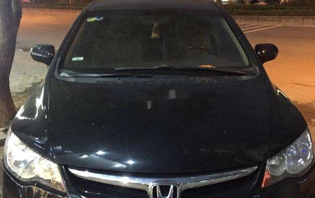 Gia đình bán Honda Civic sản xuất 2008, màu đen0