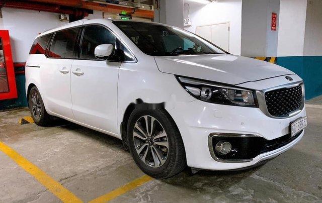 Bán Kia Sedona sản xuất 2016, màu trắng1
