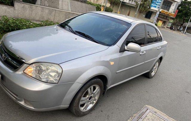 Bán ô tô Daewoo Lacetti đời 2008, màu bạc2