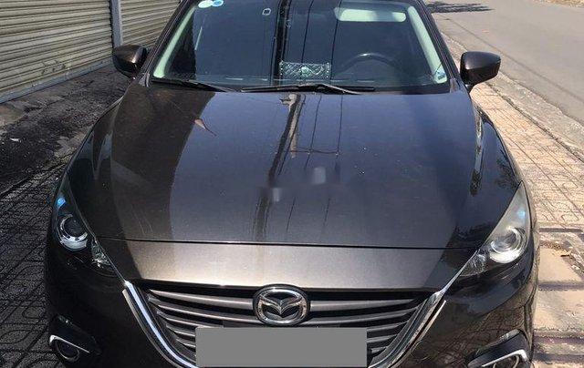 Bán Mazda 3 đời 2016, màu nâu, 480tr0