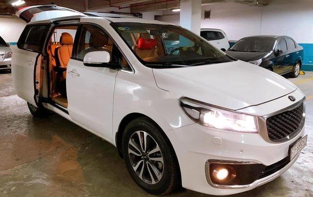 Bán Kia Sedona sản xuất 2016, màu trắng3