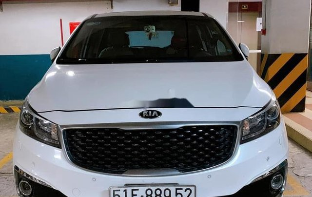 Bán Kia Sedona sản xuất 2016, màu trắng0