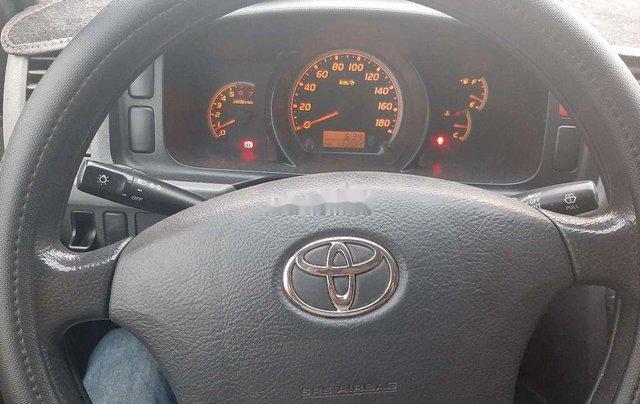 Bán Toyota Hiace sản xuất năm 2011, 16 chỗ, màu xanh ngọc4