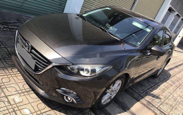Bán Mazda 3 đời 2016, màu nâu, 480tr1