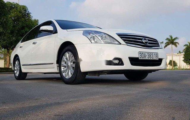 Bán ô tô Nissan Teana sản xuất năm 2011, màu trắng, xe nhập chính chủ1