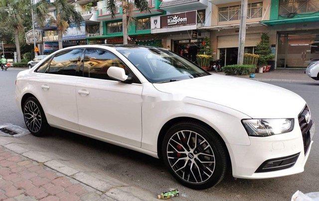 Bán Audi A4 đời 2013, màu trắng, xe nhập0