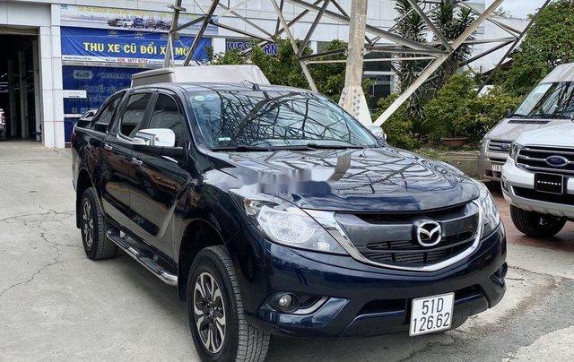 Bán Mazda BT 50 sản xuất 2017, màu đen số tự động, giá chỉ 525 triệu0