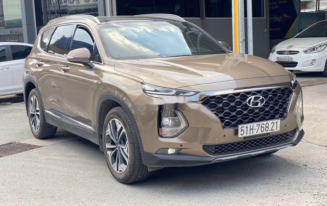 Xe Hyundai Santa Fe năm sản xuất 2020 còn mới7