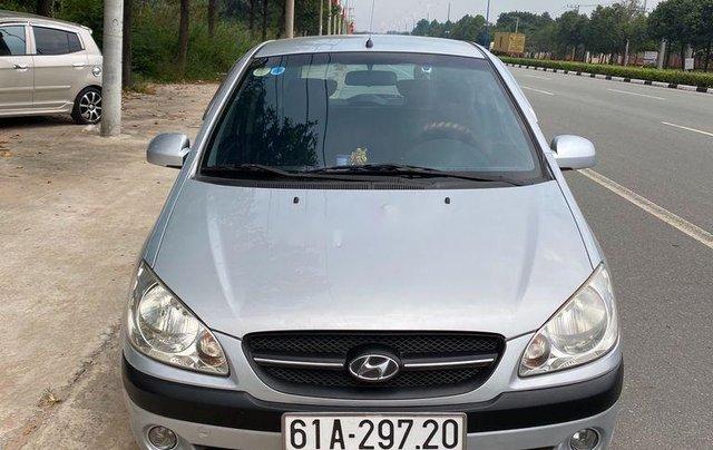 Bán Hyundai Getz đời 2009, màu bạc, xe nhập  0