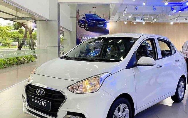 Cần bán xe Hyundai Grand i10 1.2AT năm 2020, màu trắng, giá tốt0