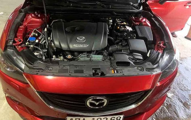 Bán Mazda 6 sản xuất 2014, màu đỏ, xe chính chủ2