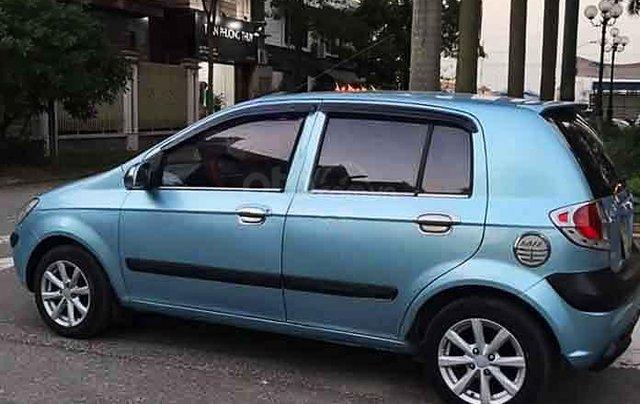 Bán Hyundai Getz năm 2009, màu xanh, xe nhập, số sàn3