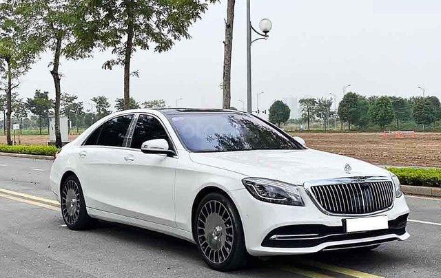 Cần bán gấp Mercedes S450 Luxury năm sản xuất 2018, màu trắng3