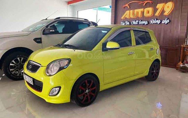 Cần bán Kia Morning năm sản xuất 2011, màu vàng, số tự động 0
