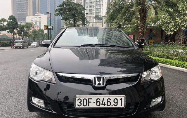 Bán ô tô Honda Civic đời 2009, màu đen chính chủ 0