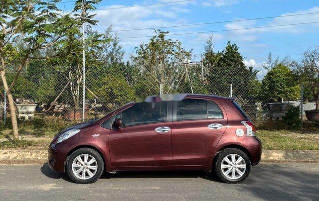 Bán Toyota Yaris năm sản xuất 2009, màu đỏ, nhập khẩu nguyên chiếc  5
