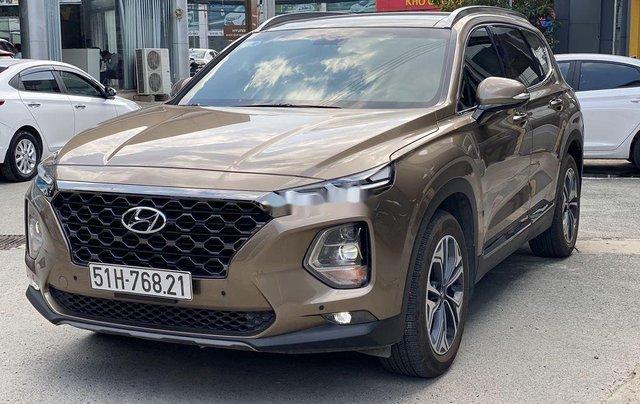 Xe Hyundai Santa Fe năm sản xuất 2020 còn mới8